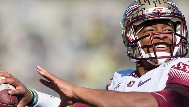 Jameis Winston has been selected first overall by the Tampa Bay Buccaneers.