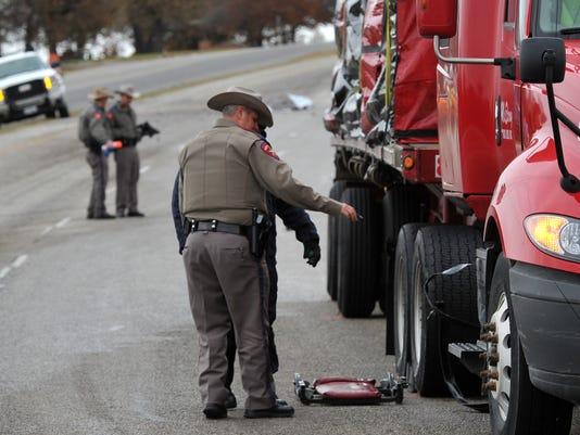 Motorist killed south of Windthorst.