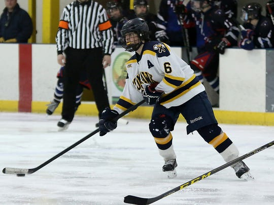 Tomahawk junior Max Bembinster was a second team selection in the GNC.