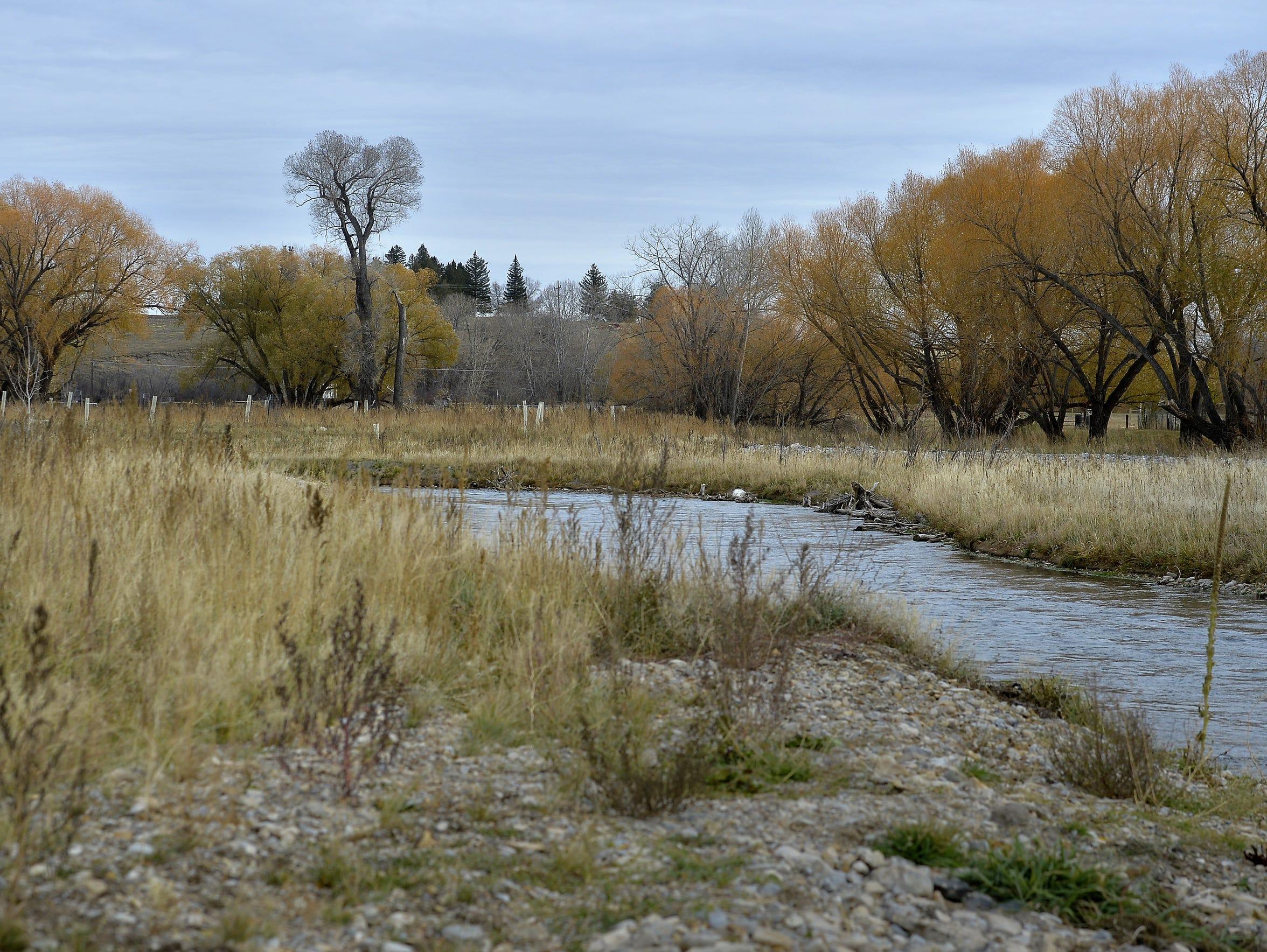 Big Spring Creek near U.S. Highway 191 has several