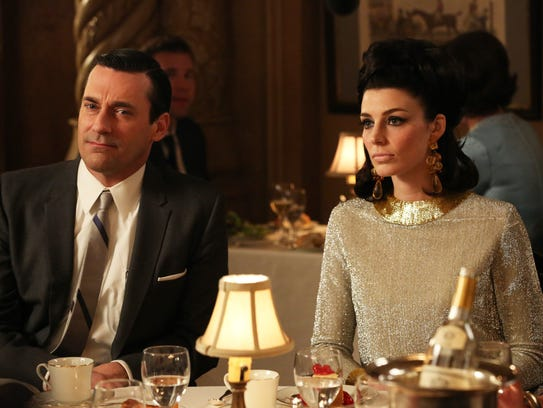 "In Season 7 of ""Mad Men,"" Don Draper (Jon Hamm) was"