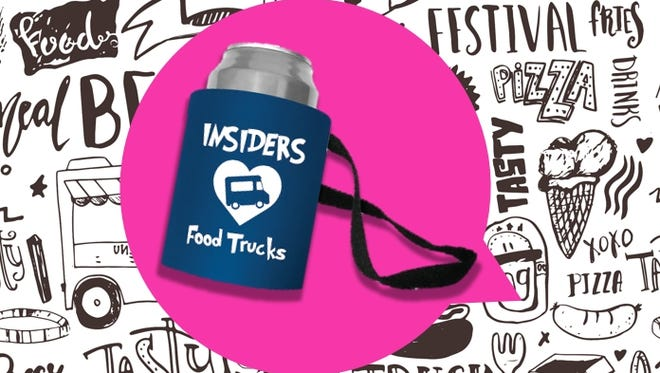 free gift for Insiders at Food Truck Mash-Up