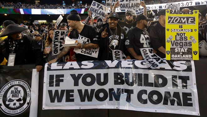 It's not surprising how the Raiders' famed Black Hole feels about potential relocation to Las Vegas.