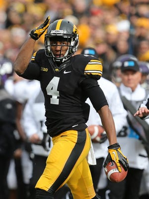 Tevaun Smith and the Hawkeyes take on the Northern Iowa Panthers at Kinnick Stadium at 11 a.m.