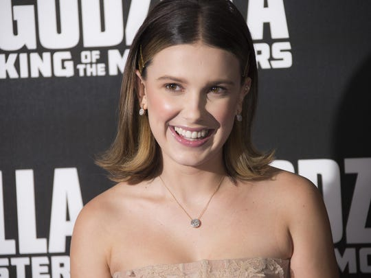 """""""Stranger Things"""" actress Millie Bobby Brown will make her big screen debut in """"Godzilla: King of the Monsters."""""""