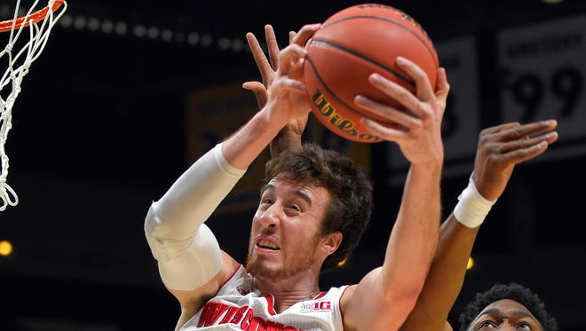 Wisconsin's Frank Kaminsky, the 7-footer who anchored Wisconsin's run to a second straight Final Four, is the runaway choice as The Associated Press' player of the year.