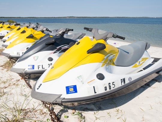 Bonifay Watersports Rentals in Pensacola Beach on Thursday,