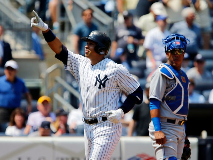 May 27: Alex Rodriguez hits a 3-run home run, his 11th
