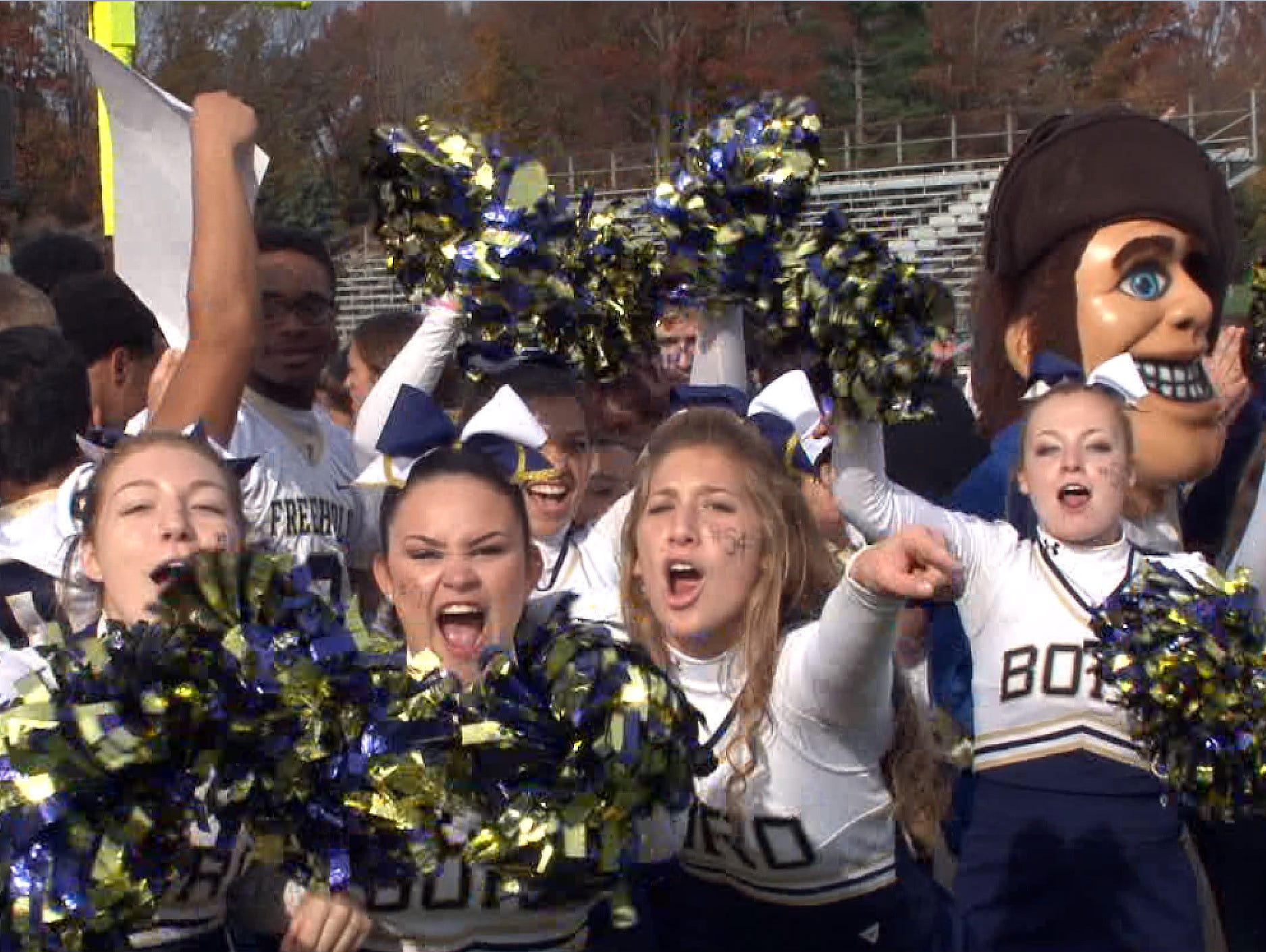The Red Zone Roadshow visits Freehold Boro High School