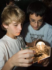 Flashlight Tours at the Desert Botanical Garden are