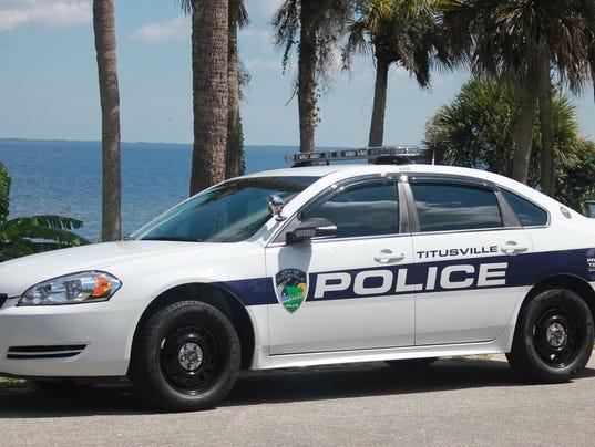 Titusville police car