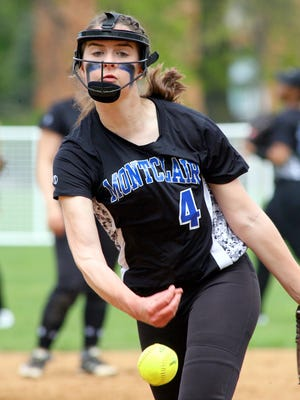 Montclair senior pitcher Jessica Masur, a Stevens Institute of Technology commit, is a four-year starter for the Mounties.