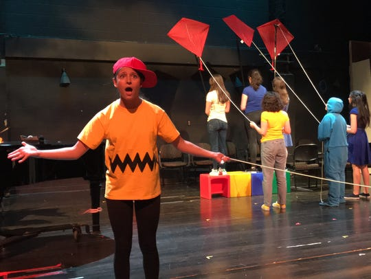 "New Rochelle High School staged an inventive ""You're a Good Man, Charlie Brown"" in the school's smaller, Linda Kelly Theater."