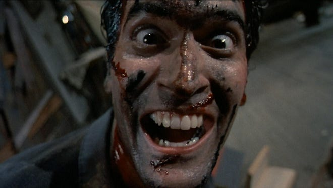 "Bruce Campbell reprises his role from the ""Evil Dead"" movies in the new Starz series ""Ash Vs. Evil Dead."""
