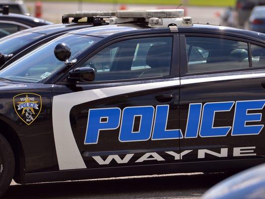 wayne cop police car