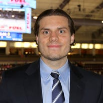 Jared Abbott, shown in October of 2014, has been promoted to director of hockey operations and development for the Jackals.