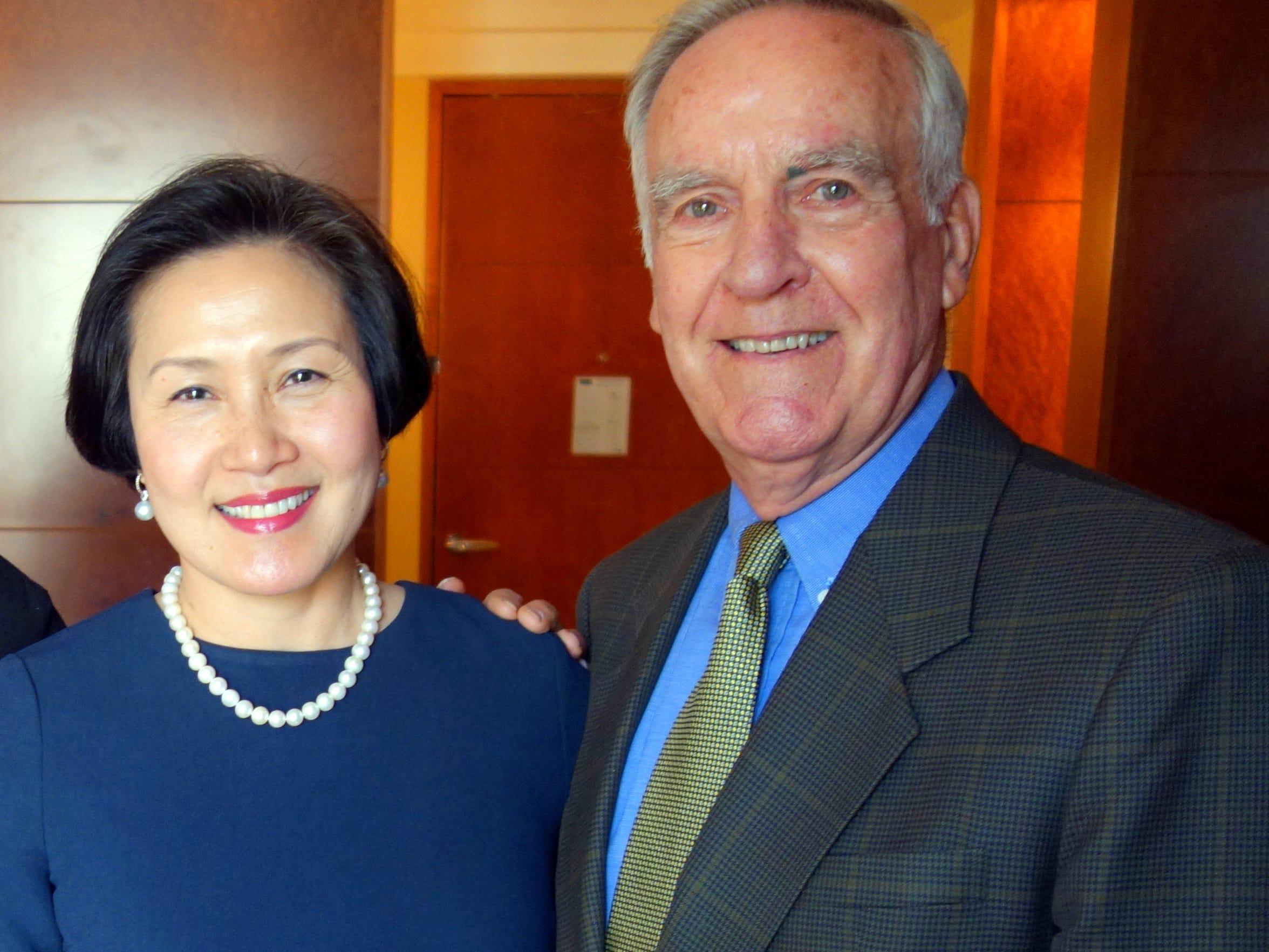 Pete Peterson met Vi Le, a native of Vietnam who was