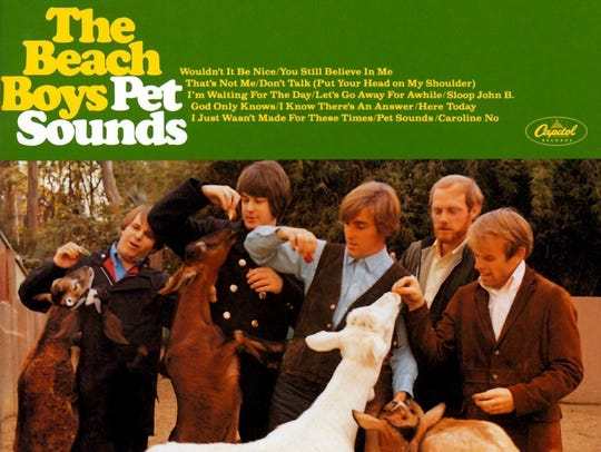 "The Beach Boys ""Pet Sounds"" album."