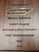 The Tennessean won first place in the Associated Press Awards.