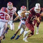 Pace vs Tate football game at Tate High School on Friday, October 7, 2016.