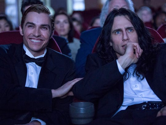 Dave Franco, left, and James Franco star in the upcoming