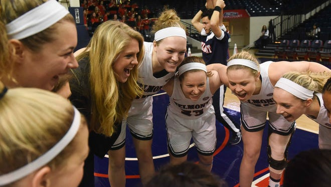 The Belmont women's team earned 10 votes in the Associated Press Top 25 poll this week.