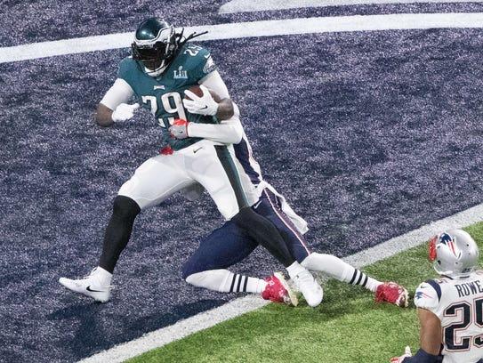 Philadelphia Eagles running back LeGarrette Blount