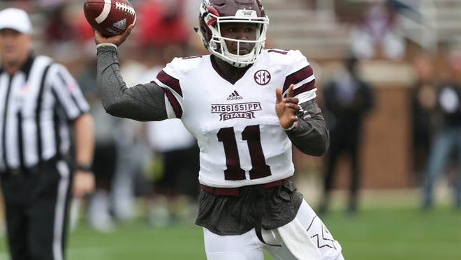 Damian Williams finished the spring the strongest of any of the quarterbacks this spring.