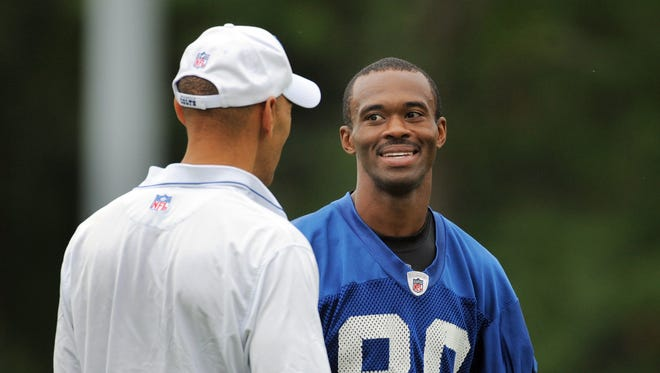 "Tony Dungy on Marvin Harrison: ""Everything was business. No flash. Didn't need to be seen. Didn't need to spike the ball. Didn't need to yell."""
