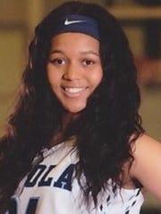 Chelsea Johnson, Loyola, Jr., 16.1 ppg., 10.7 rpg.