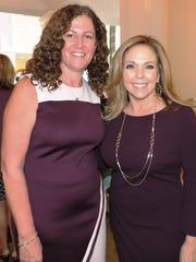 Gina Thompson, left, Mary's Shelter executive director