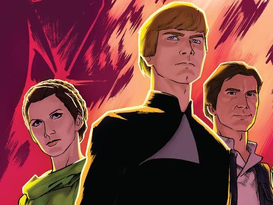 Old favorites such as Princess Leia, Luke Skywalker