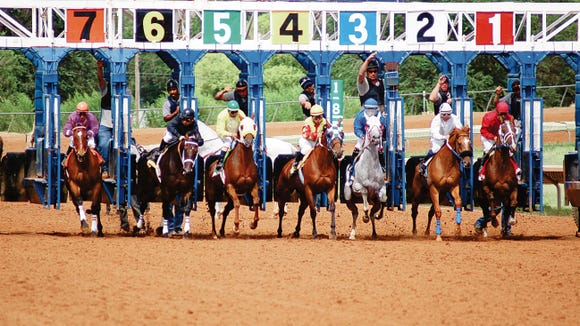 Ruidoso Downs Racetrack.