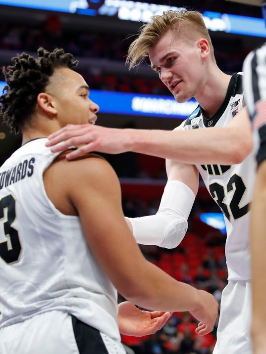 NCAA Basketball: NCAA Tournament-First Round: Purdue Boilermakers vs. Cal State Fullerton Titans