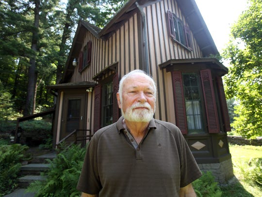 Harvey Flad, an historic landscape preservationist,