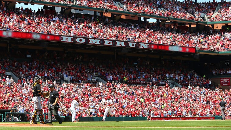The St. Louis Cardinals vs. the Pittsburgh Pirates