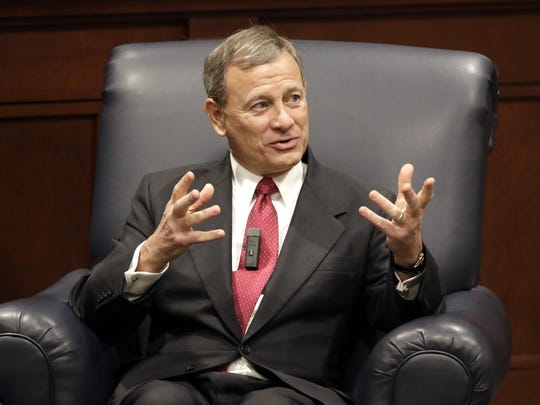 """""""People need to know that we're not doing politics.,"""" Supreme Court Chief Justice John Roberts said this week."""
