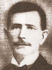 """Gustavus """"Gus"""" Umberham, Algoma lighthouse keeper 1901-1913,"""