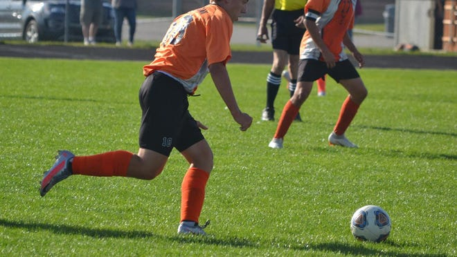Cheboygan senior midfielder Justin Horrocks earned a spot on the All-Northern Michigan Soccer League's first team following a strong season on the pitch.
