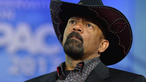 Milwaukee County Sheriff David A. Clarke, Jr. is being