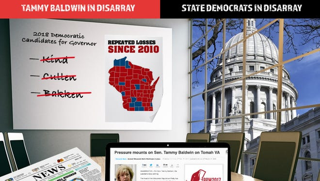 "New Republican website attacks Wisconsin Democrats for being ""in disarray"""