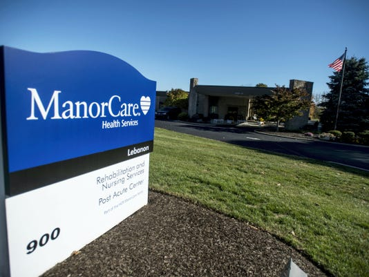 ManorCare Health Services at 900 Tuck St., North Cornwall Township, is in the sights of an Arkansas-based law firm that represents plaintiffs in nursing home abuse lawsuits.