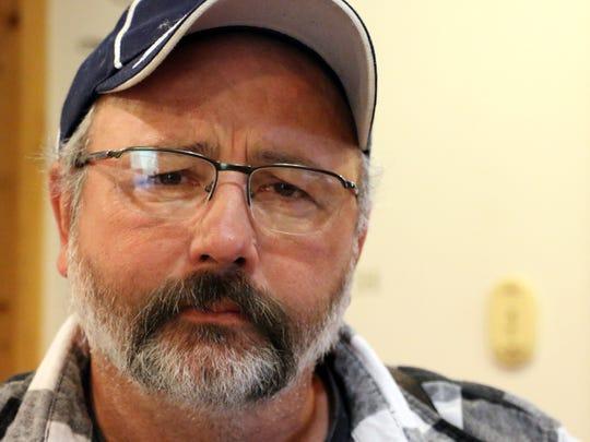 Rick Friday, farmer and cartoonist.
