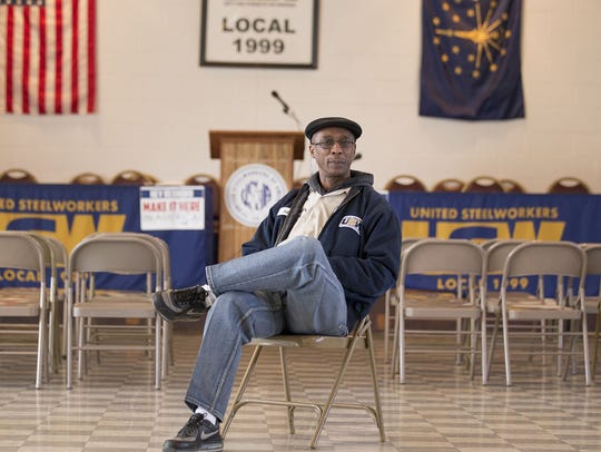 Robert James is president of United Steelworkers Local