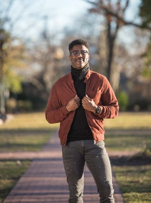 Former NFL wide receiver and current CBS analyst Nate Burleson photographed in Ridgewood on Nov. 29, 2017.