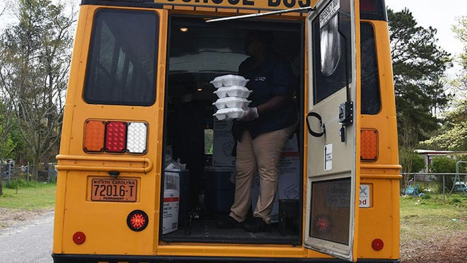 LCPS plans to begin delivering lunch and next-day breakfast to its students by school bus on Sept. 1. To receive the free meals, students' families must provide registration information requested by the schools.