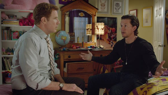 Will Ferrell and Mark Wahlberg cranked up the dad competition