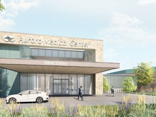 Aurora Health Care unveiled a conceptual design for