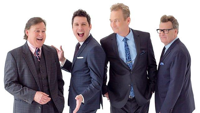 From left: 'Whose Live' cast members Joel Murray, Jeff B. Davis, Ryan Stiles and Greg Proops.