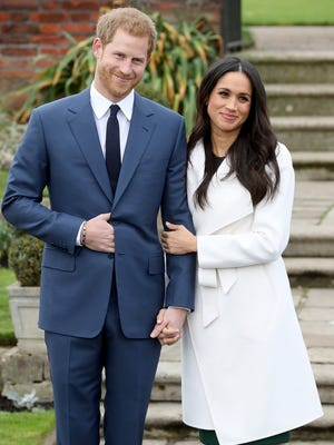 The royal and the American-born actress have been dating since November 2016. They went public as a couple at Prince Harry's Invictus Games in September of this year.